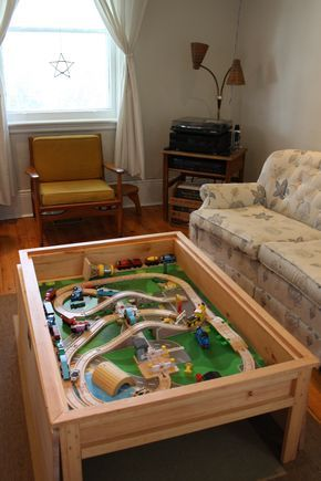 64 Best DIY Train Tables Images On Pinterest | Train Table, Train  Activities And Train Tracks