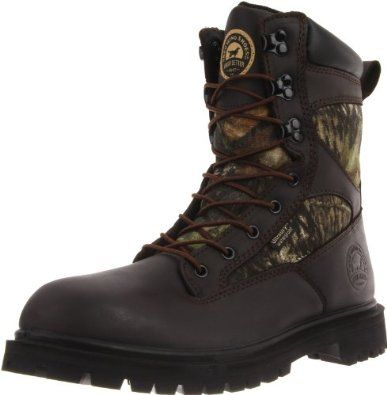 """Irish Setter Men's Impact-857 Hunting Boot Irish Setter. $76.31. Steel Shank. Height: 10"""". 600 Gram Thinsulate Ultra Insulation. Polyurethane Midsole. Weight: 4lbs. 6oz.. Rubber sole. Leather and Textile"""