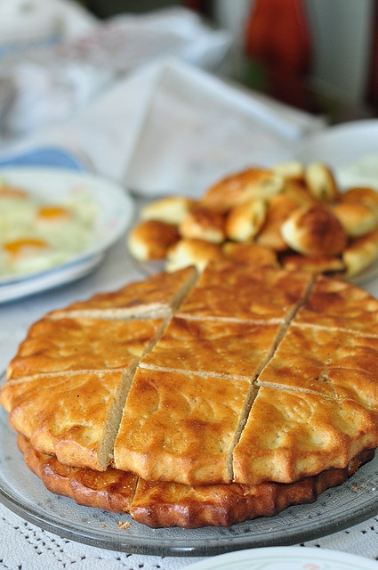 Kada - Georgian butter pastry.