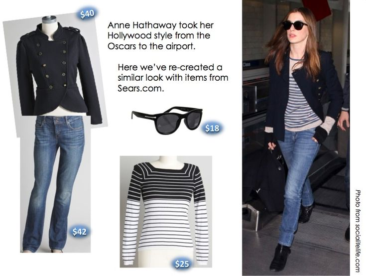 Anne Hathaway casual