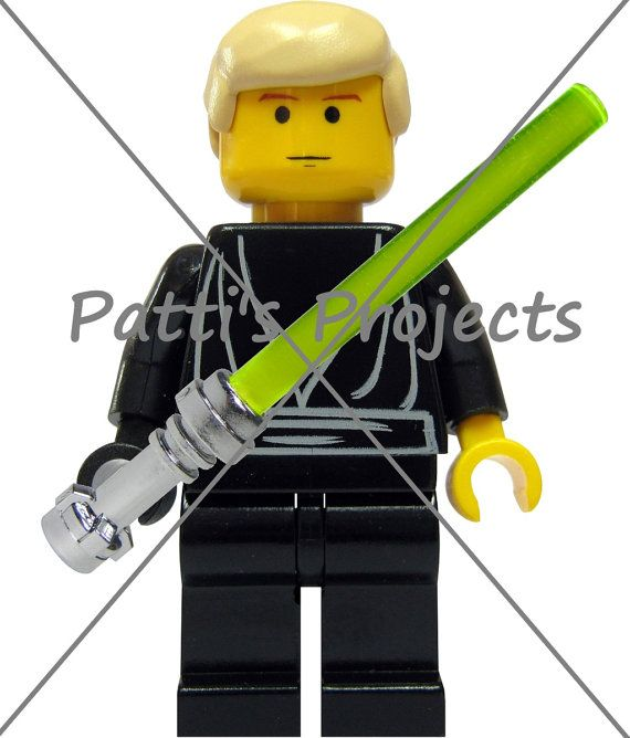 Pin the Lightsaber on Luke Game by PattisProjects on Etsy