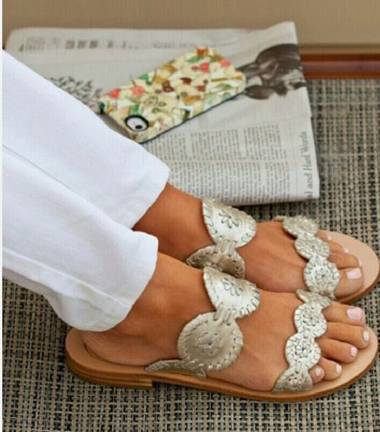 Jack Rogers Sandals for Spring/Summer 2014, in silver, other colors