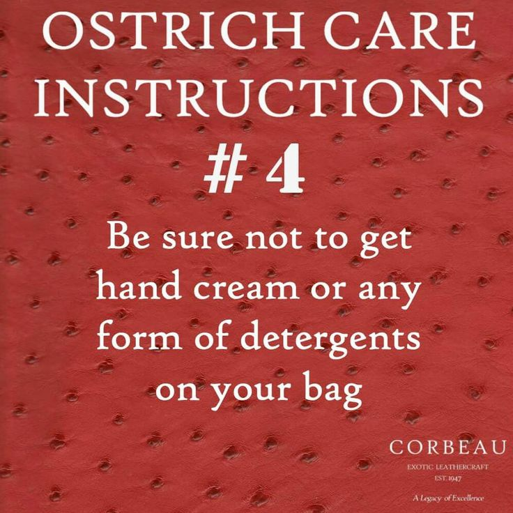 Care Instruction #4  You Can Be Too Clean..  #Love #LoveYourBag #Care #Fashion #FashionAdvice #Handbag #Handbaglove #Style #Fashionista #OstrichLeather #Advice #OstrichLeatherHandBag #Bags #WatchThisSpace #Stylish #StyleStar #FashionLove #Classic #Trends #FashionTrends #Clean #Cleaning