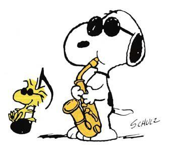 Music with snoopy