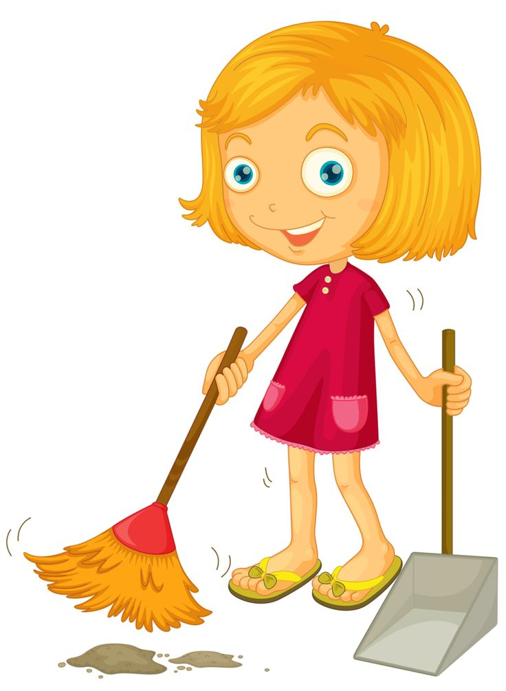 Kids cleaning room clipart - photo#49