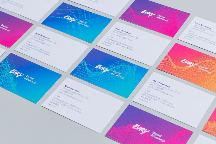 EVRY - Businesscards by Mission
