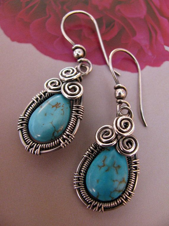 Turquoise and such detailed wire work