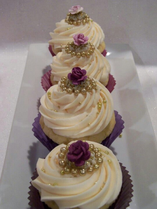 Purple Ombre` Cupcakes | One of a Kind CUPCAKES ...