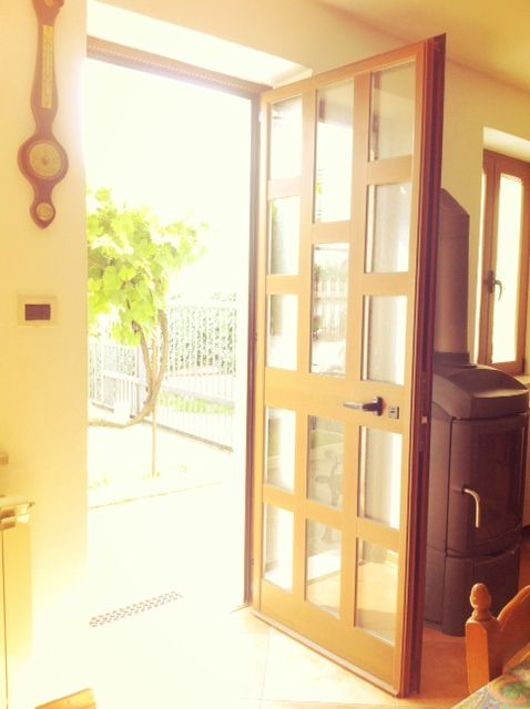 Kitchen entrance...