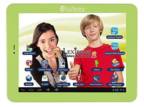Lexibook MFC181EN 7-Inch Tablet - Lexibook Kids Tablet Advance 2  - http://ehowsuperstore.com/bestbrandsales/computers-accessories/tablet-pc/lexibook-mfc181en-7-inch-tablet