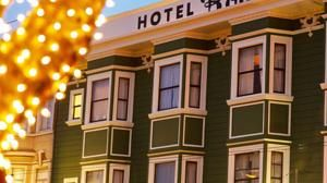Located in the heart of historic North Beach San Francisco, this intimate hotel creatively captures the area's bohemian flair of the 1950's and 1960's.