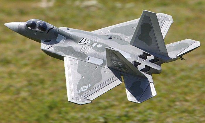 F-22 Camo Raptor 64mm 4CH RTF Ducted Fan RC Jet - http://www.nitrotek.co.uk/241.html