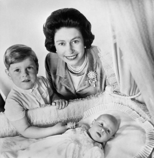 ROYALTY: Royal family members as babies, toddlers and little kids
