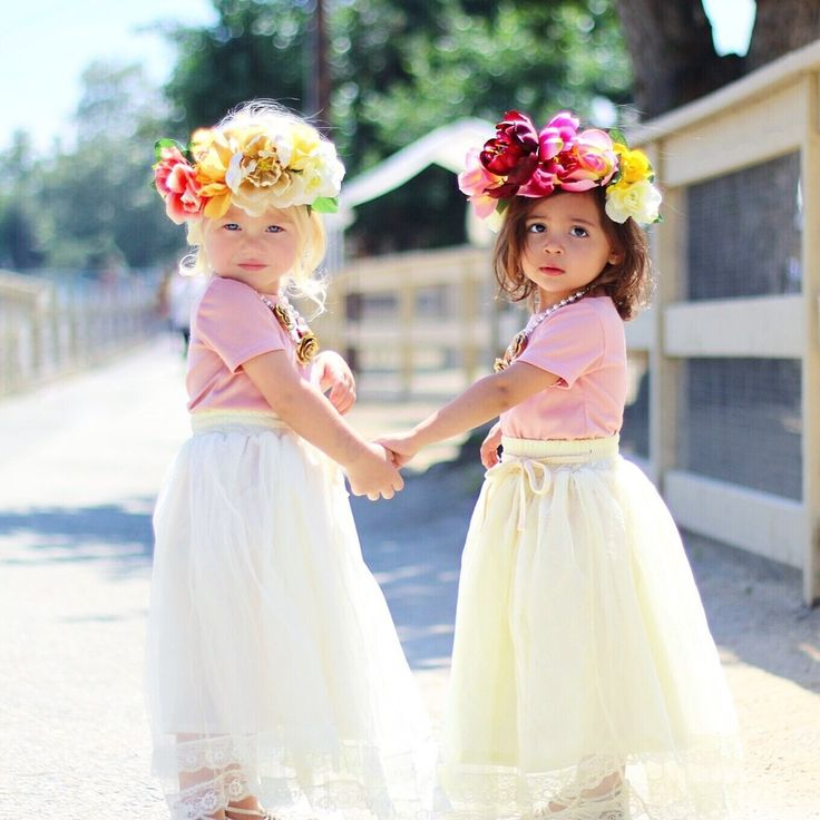Meet The 2-Year-Old BFFs Who Are Taking The Fashion World By Storm