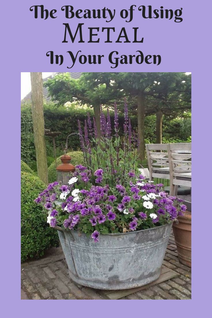 Metal troughs are hard to find and expensive when you do, but there are many ways to use them in your garden.