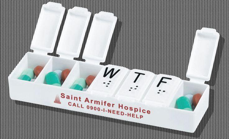 The Saint Armifer Hospice #WTF #PillBox