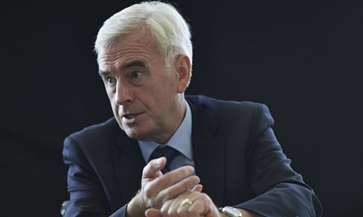 John McDonnell accuses George Osborne of pursuing 'immoral' policies | Politics | The Guardian