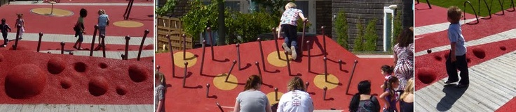 Parques para todos en La Haya / Everybody´s Playground - Archkids. Arquitectura para niños. Architecture for kids. Architecture for children.