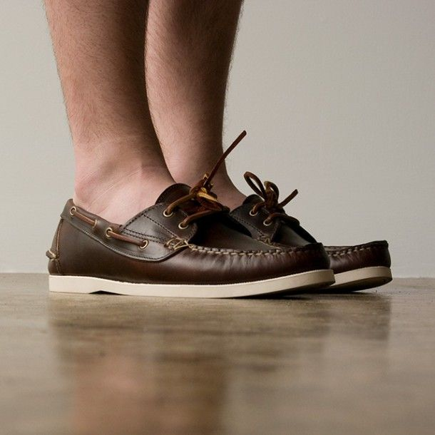 Oak Street Bootmakers | Brown Boat Shoe | OMG Shoes | Pinterest ...