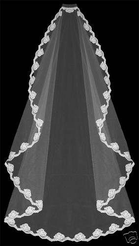 Spanish wedding veil