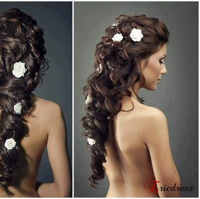 Phantom Of the Opera wedding hair <<< I hope my hair is long enough to do this. It would be wonderful