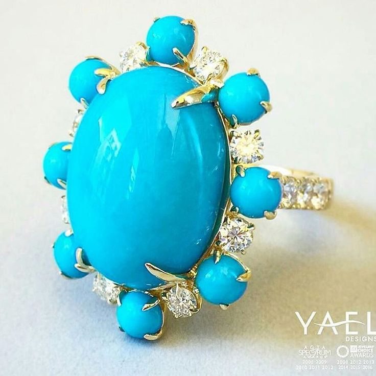 @Regrann from @yaeldesigns - Sleeping beauty turquoise can be found in the southwestern part of the United States in Arizona. The highly sought after stone has made a tremendous impact on the history of turquoise over the years. The stone got its name because the mountain where it is mined resembles a sleeping woman laying on her back with arms crossed.