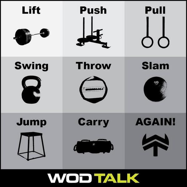 CrossFit..get after it!
