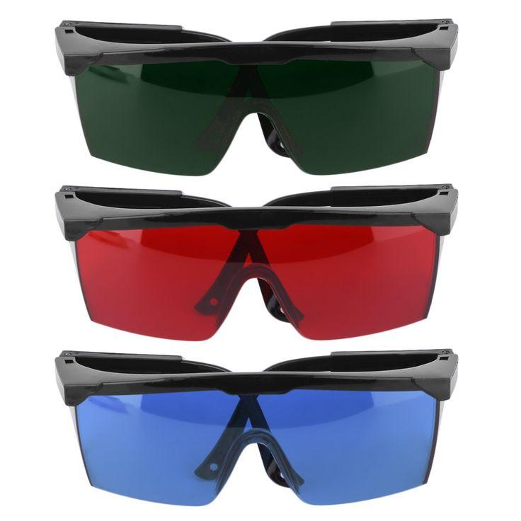Gafas de protección Gafas de Ojos Gafas de Protección Gafas de Seguridad Láser Verde Azul Rojo Verde ColorHigh Calidad y Nuevo
