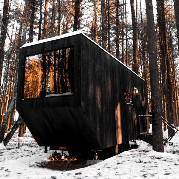 Https Getaway House In 2020 Modern Cabin Cabin Rentals Vacation Rental