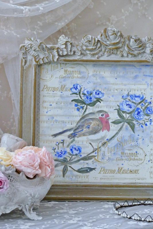 1000 id es sur le th me papier peint shabby chic sur pinterest style shabby chic fond d 39 cran - Papier peint shabby chic ...