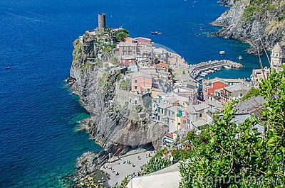 Beautiful view of Vernazza - Cinque Terre, Italy