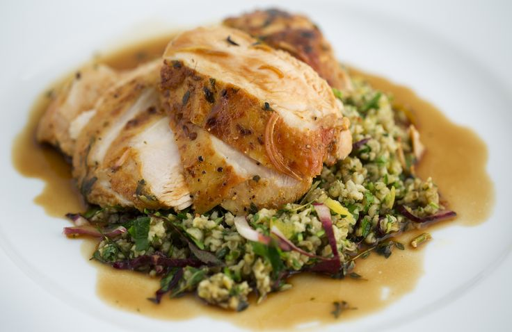Recipe for Barossa Chicken and Green Olives - perfect meal for two.