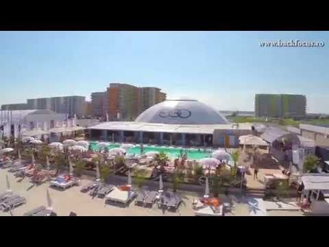 EGO Beach - Mamaia, Romania (aerial video)