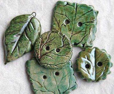 leaf buttons -- COOL!! I love leaves!!!