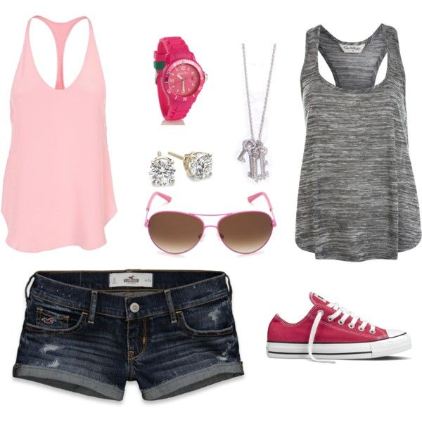 Casual But Sporty In A Way ;)