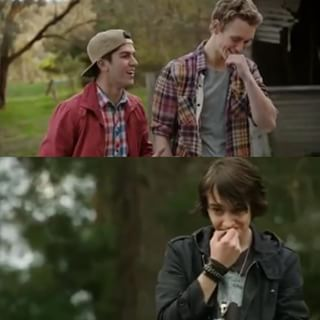 jake, felix and sam nowhere boys smile - Pesquisa Google