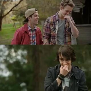 jake, felix and sam nowhere boys smile - Pesquisa Google