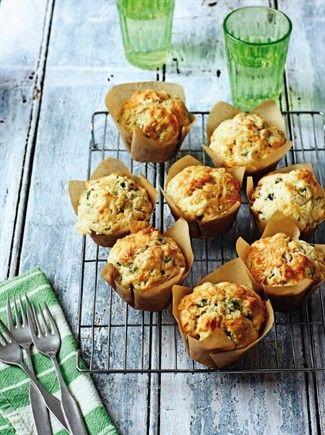 Muffins salati con verdure (ricetta)  --  con le zucchine ma con ciò che vuoi…