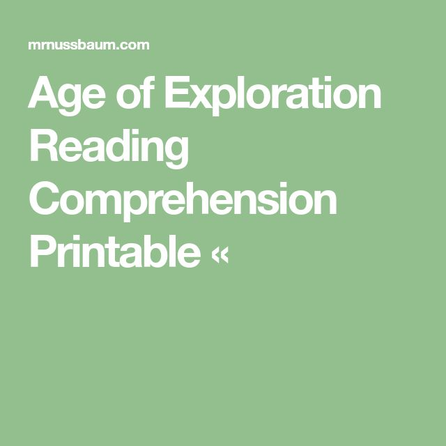 graphic about Mr Nussbaum Reading Comprehension Printable called Age of Investigate Studying Understanding Printable Â« HS