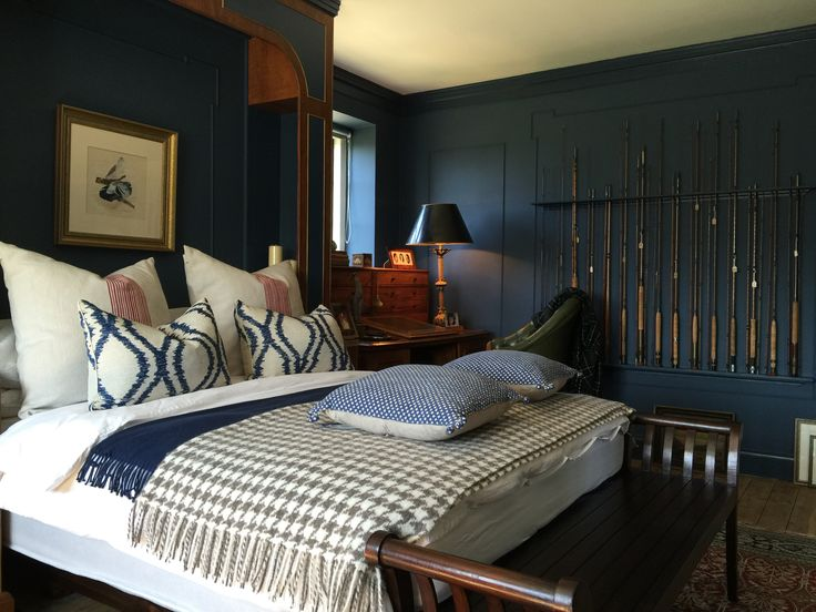 A Bedroom For A Discerning Country Gent Walls Stiffkey