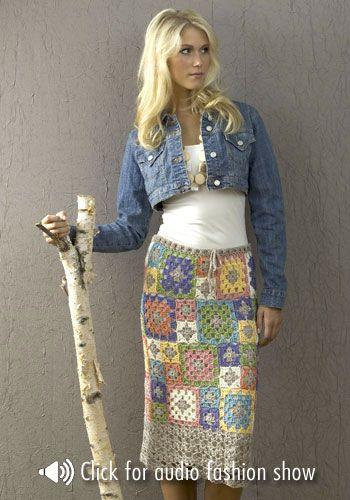 NaturallyCaron.com :: Archena Skirt