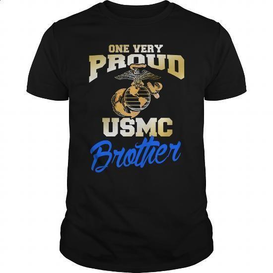 USMC TSHIRT, USMC BROTHER SHIRT, MARINES TSHIRT - #crewneck sweatshirts #long sleeve shirt. ORDER HERE => https://www.sunfrog.com/LifeStyle/USMC-TSHIRT-USMC-BROTHER-SHIRT-MARINES-TSHIRT-Black-Guys.html?60505