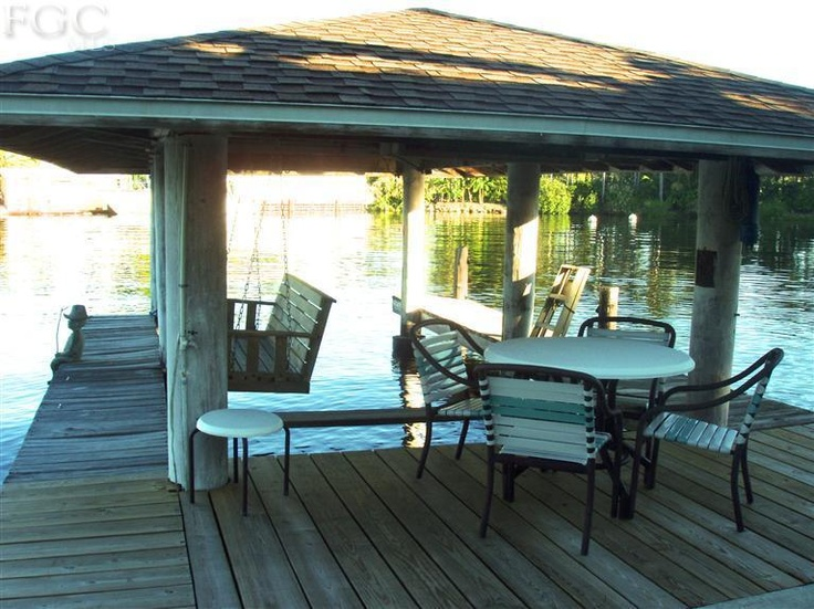Delightful 14502 Riverside Drive, Fort Myers, FL   Boat Dock Covered. Entertain On The
