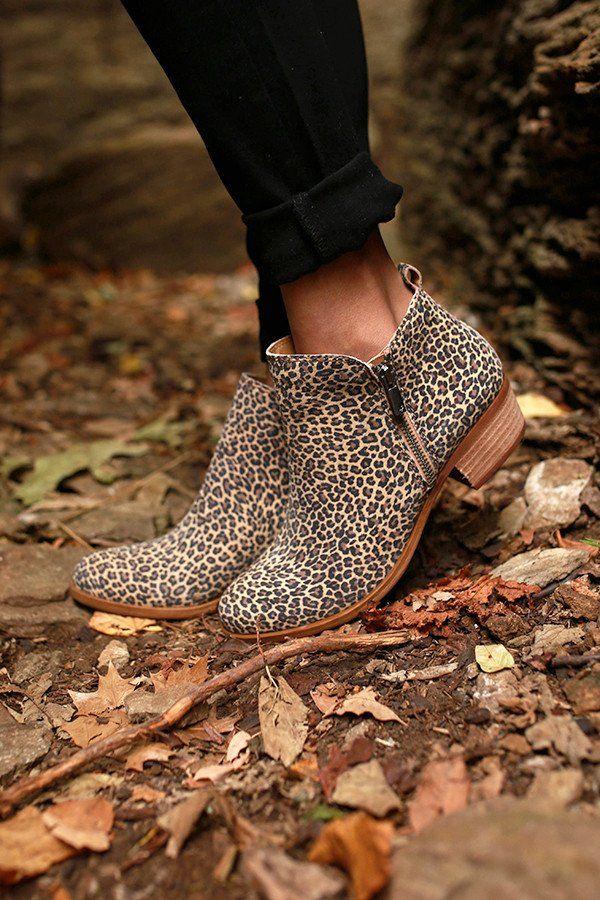 Basel Leopard Bootie