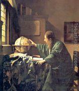 The Astronomer c. 1668  by Jan Vermeer Van Delft