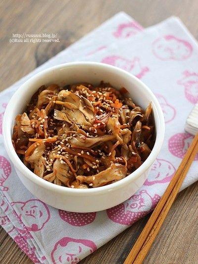 レシピ】舞茸の食べラーきんぴら。 by るぅさん   レシピブログ - 料理 ...