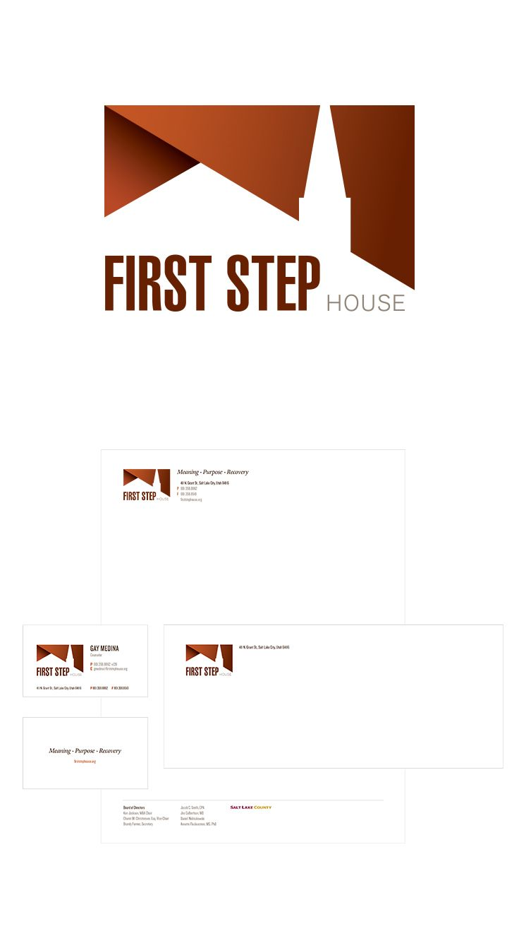 First Step House Logo Design #epicmarketing #logo #graphicdesign #marketing #visualidentity #identity