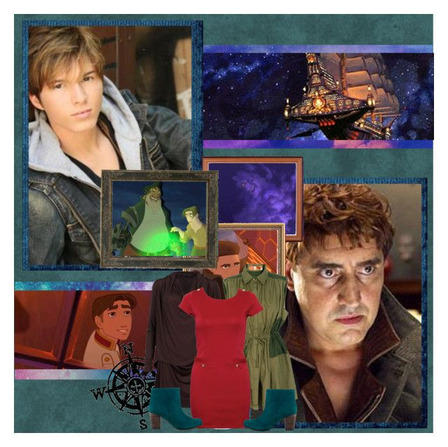 """I want a moment to be real"" by disney-princess-unaware ❤ liked on Polyvore featuring art, jim hawkins, treasure planet, paul butcher, alfred molina and john silver"