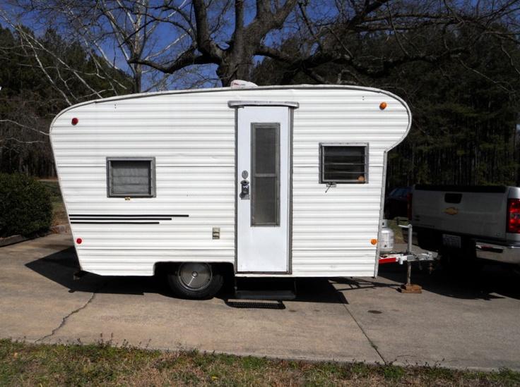 1970 SCOTSMAN 14' Vintage travel trailer Camper