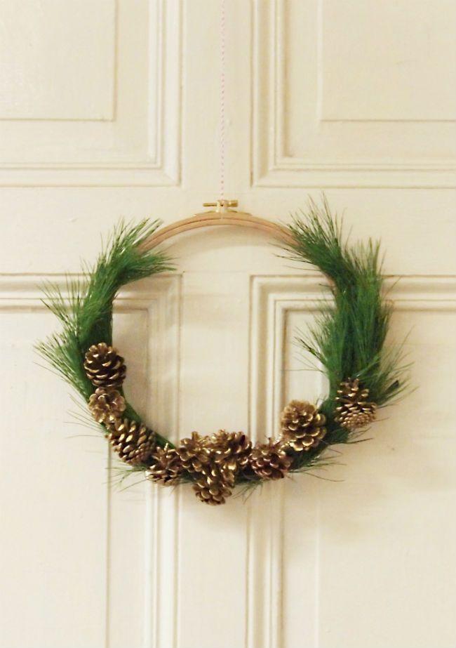 wunderbar Weihnachtlicher Tuerschmuck Part - 16: Weihnachten 2017
